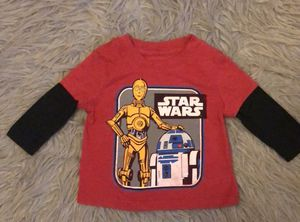 Toddler Star Wars Long Sleeve Size 12 Months for Sale in Chula Vista, CA