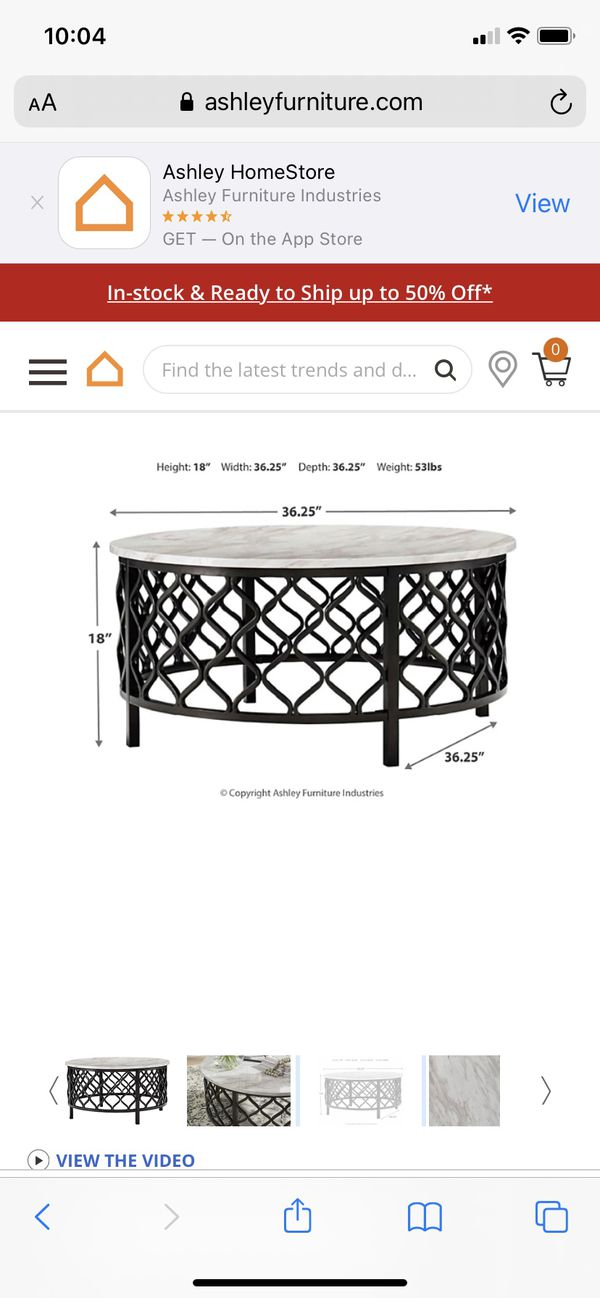 Indoor/Outdoor Cocktail table Brand New