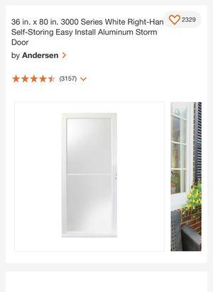 Andersen Storm Door 36x80 for Sale in Rialto, CA