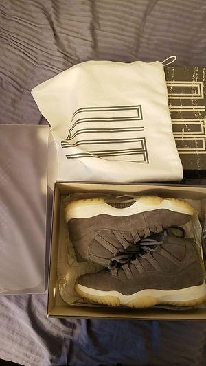 Jordan 11 grey suede size 9 for Sale in Fairfax, VA