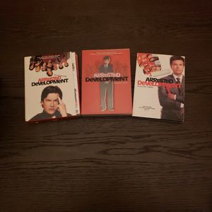 Arrested Development Seasons 1, 2 & 3 DVD Series for Sale in Riverside, CA