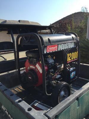 2000 Coleman industrial generator for Sale in Menifee, CA