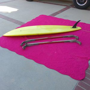 Con Surfboard With Aloha Racks for Sale in Chino Hills, CA
