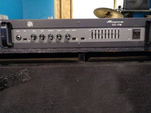 Ampeg bass amp and vintage cab for Sale in Sebring, FL