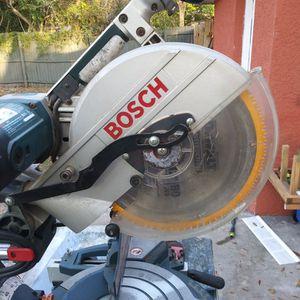 "12""inch Bosch Miter Sliding Saw for Sale in Tampa, FL"