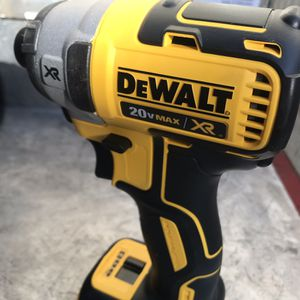 Dewalt 1/4 Impact DCF887 And Battery Brand New for Sale in Chico, CA