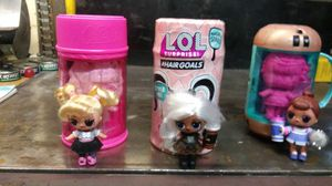 3 brand new lol surprise dolls 2 #hairgoals for Sale in Orting, WA