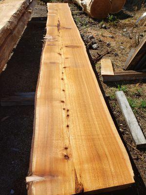 Fresh cut western red cedar slabs for Sale in Arlington, WA