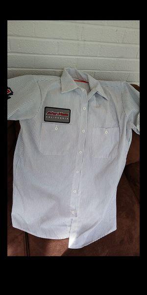 Arlen Ness California baseball jersey style short sleeve shirt sz med for Sale in Olympia, WA