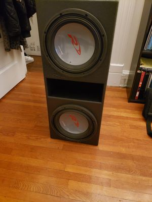 12 inch alpine type R 1500 watt subs for Sale in Columbus, OH