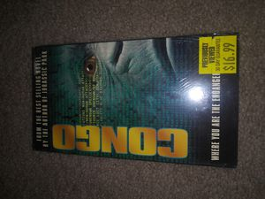 Congo vhs movie for Sale in Seminole, FL