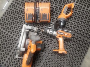 Ridgid cordless tools for Sale in Orlando, FL
