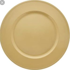 300 gold charger plates for Sale in Burke, VA