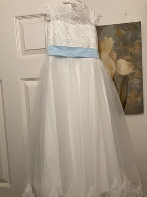 Dress for Baptism / Vestido para Bautizo! NUEVO, Talla 4-5 for Sale in Buckeye, AZ