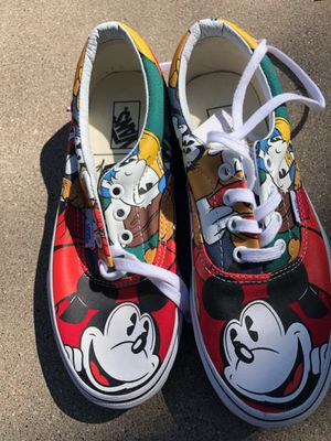Limited edition mickey mouse vans for Sale in Phoenix, AZ