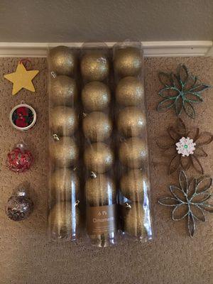 25 Christmas Ornaments- SEE PHOTOS for Sale in Arlington, TX