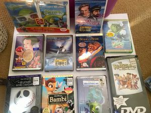 NEW 10 DVD Disney/Universal for Sale in Trumbull, CT