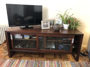 Crate & Barrel tv stand/media cabinet/console for Sale in Brooklyn, NY