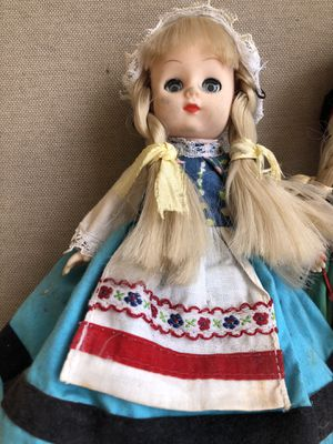 3 Vintage dolls all for $10 collectible antique for Sale in North Miami, FL