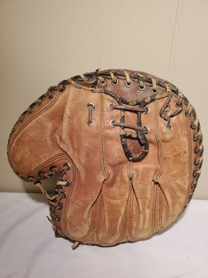 Vintage baseball glove and catchers mit for Sale in Thomasville, NC