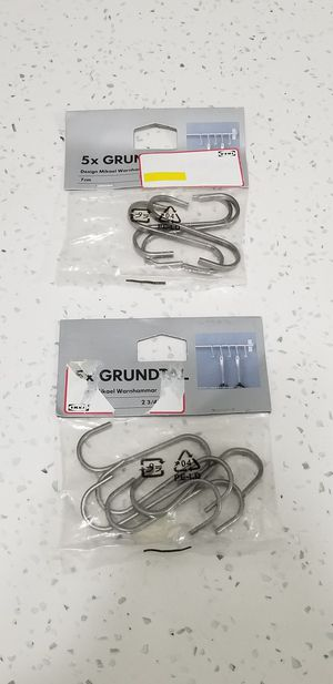 Ikea Grundtal Kitchen Utensiles Hooks, 10pcs. Brand New for Sale in Arlington Heights, IL