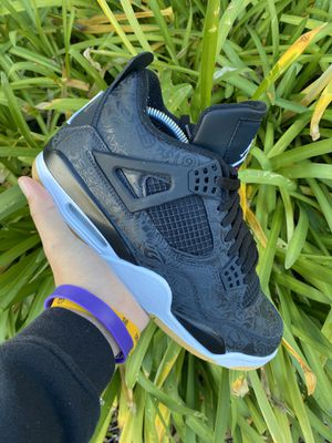 Air Jordan 4 Lasers size 9 for Sale in Roseville, CA