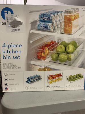 iDesign 4 pc Kitchen Bin Set for Sale in Claremont, CA
