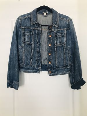 Express blue Jean jacket. Size: S for Sale in Oxon Hill, MD