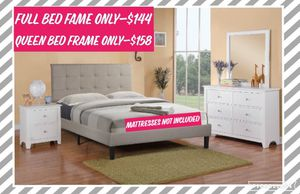 Full and Queen Bed Frame for Sale in La Verne, CA