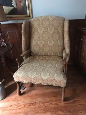 Confessional Wingback Chair for Sale in Chesterbrook, PA