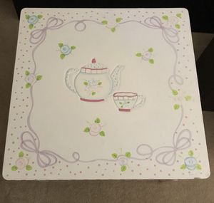 Princess kids Guidecraft table and one chair tea cup for Sale in Milpitas, CA