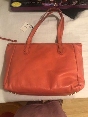 Orange fossil purse for Sale in Tacoma, WA