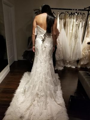 Casablanca 2201 Wedding Dress - New with tags for Sale in NEW PRT RCHY, FL