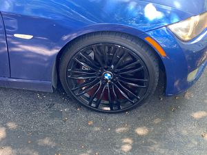 19 m3 rims and tires for Sale in Swampscott, MA