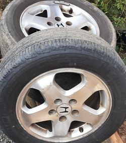 2000 Honda Accord OEM aluminum Rims 215/60 R16 for Sale in Tacoma,  WA
