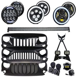 Jeep Wrangler LED Appearance Package Front End Upgrade - TIER 2 (JK/JKU) for Sale in Anaheim, CA