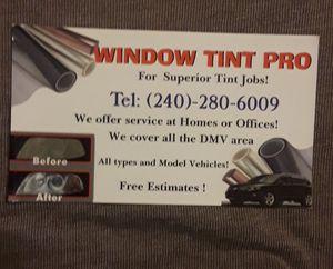 Polarisados TINT WINDOWS ISTALATION for Sale in Hyattsville, MD