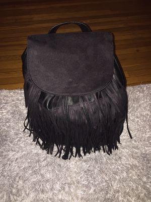 H&M Black Fringe Backpack for Sale in Culver City, CA