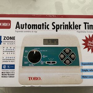 Sprinkler Time (TORO) for Sale in Menifee, CA