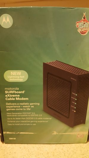Motorola Surfboard extreme cable modem SB6120 for Sale in Philadelphia, PA