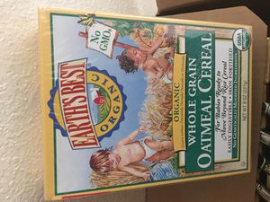 Organic oatmeal baby cereal for Sale in Los Angeles, CA