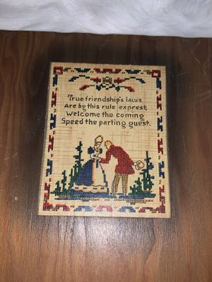 Wooden guest book for Sale in Chicago, IL