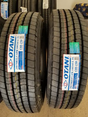 Otani OH-150 295/75R22.5 lp22.5 for Sale in Bakersfield, CA