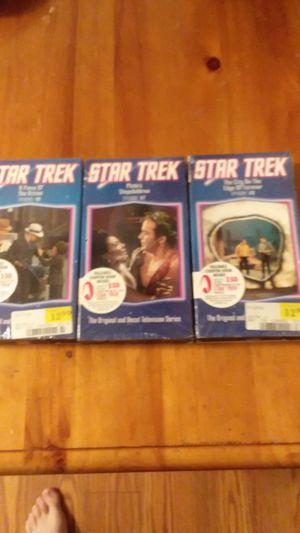 Star trek VHS tapes for Sale in Virginia Beach, VA