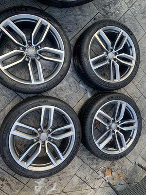 "Audi 21"" rims for Sale in Cranston, RI"