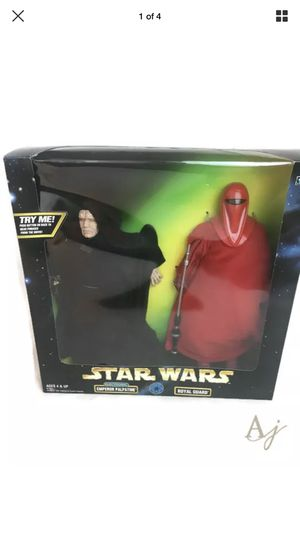 Star Wars ACTION COLLECTION- Emperor Palpatine + Royal Guard Authentically Styled Action Figure 2-Pack by Kenner for Sale in Las Vegas, NV