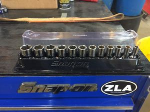 Snap on new 3/8 drive 12 piece metric socket set 8-19 for Sale in Chantilly, VA