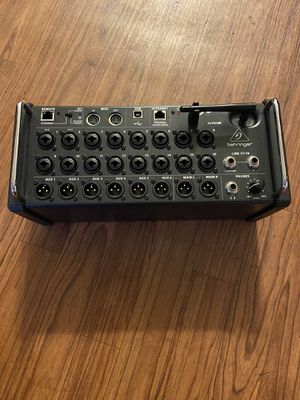 Behringer X air XR18 tablet-controlled digital mixer for Sale in Chicago, IL