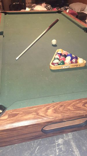 Pool table 250.00 for Sale in Greeneville, TN