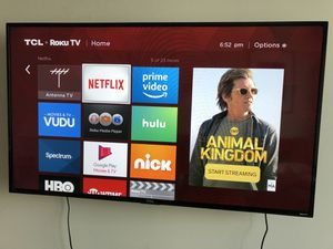 """55"""" Roku Smart TV - Perfect Condition! for Sale in Charlotte, NC"""